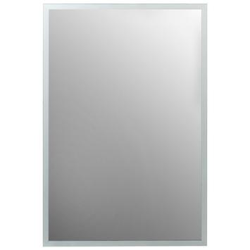 Plieger basic spiegel facetrand met satijn 50 x 40 cm