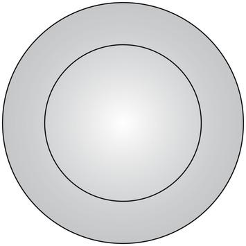 Plieger basic spiegel met LED-verlichting 60 cm