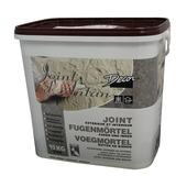 Voegmortel ant. wit 15kg tbv steenstrips