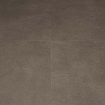 vtwonen Loose Lay PVC Vloertegel Concrete Grey 4V-groef 50x50 cm 3 m2