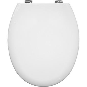 Bemis New York wc bril hout wit met softclose