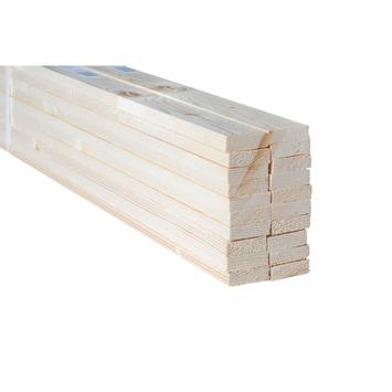 Bouwhout vuren ruw 10x38 mm; lengte 330 cm