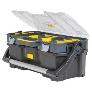 Stanley gereedschapskoffer met assortimentsdoos 26x67x36 cm