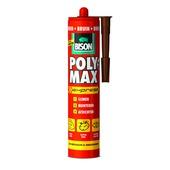 Bison poly max universele montagelijm en afdichtingskit 425 gram bruin