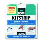 Bison kitstrip badk. 41mmx3,35m wit