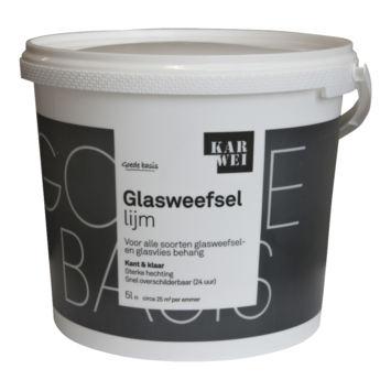 Karwei glasweefsellijm 5 Liter