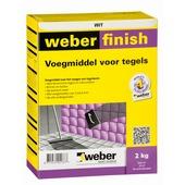 Weber SG voegmiddel wand/vloer wit 2 kg