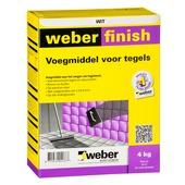 Weber SG voegmiddel wand/vloer wit 4 kg