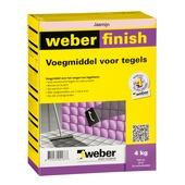 Weber SG voegmiddel wand/vloer jasmijn 4 kg