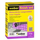 Weber SG voegmiddel wand/vloer antraciet 2 kg