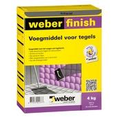 Weber SG voegmiddel wand/vloer antraciet 4 kg