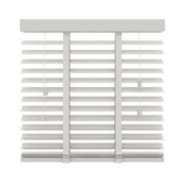 KARWEI horizontale houten jaloezie wit (944) 80 x 130 cm - 50 mm