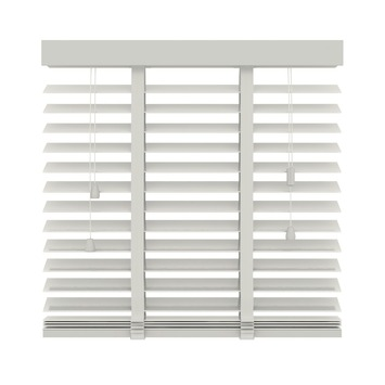 KARWEI horizontale houten jaloezie wit (944) 140 x 180 cm - 50 mm