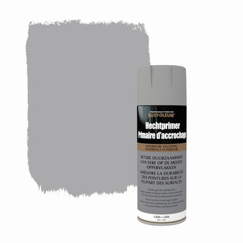 Rust-oleum primer spuitlak mat grijs 400 ml