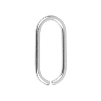 Huiscijfer 0 aluminium Rond