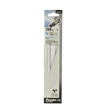 Piranha schrobzaagblad X22142 BiM 228 mm (2 stuks) voor metaal