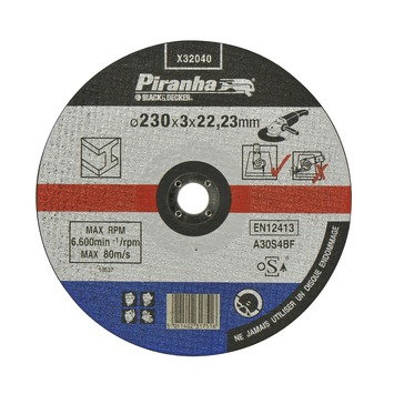 Piranha doorslijpschijf metaal X32040 3,2x230 mm
