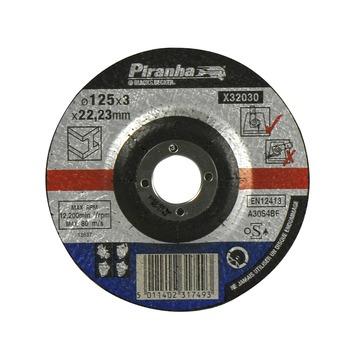 Piranha doorslijpschijf metaal X32030 3,2x125 mm