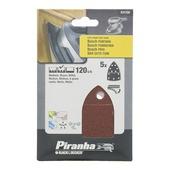 Piranha schuurpapier X31720-XJ K120 (5 stuks)