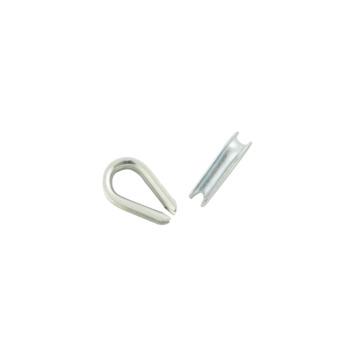Ledent puntkous verzinkt 3 mm (4 stuks)
