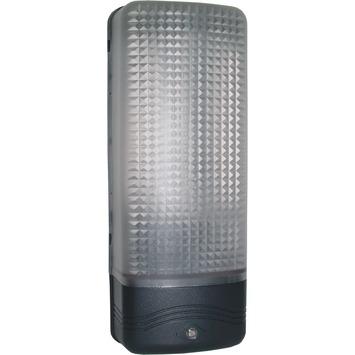 KARWEI buitenlamp zwart met dag/nacht sensor
