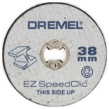 Dremel EZ SpeedClic snijschijf SC456 (5 stuks) voor metaal