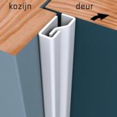 Secu anti-inbraakstrip Plus voordeur SKG 1-ster 205 cm wit