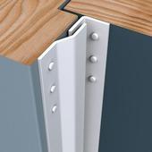 Secu anti-inbraakstrip Basic voordeur SKG1 205 cm wit