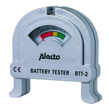 Alecto batterij tester universeel
