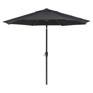 Parasol Caroline zwart d300 cm