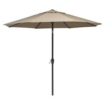 Parasol Caroline taupe d300 cm