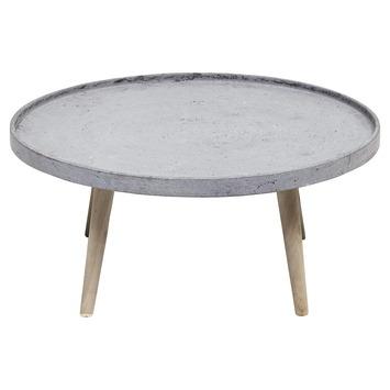 Bijzettafel lichtgewicht beton 70 cm