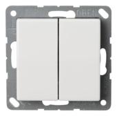 JUNG AS500 Serieschakelaar wit