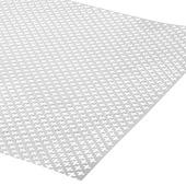 CanDo decorpaneel Klaver aluminium zilver 100x50 cm