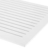 CanDo radiatorbekleding Chester wit gegrond 60x50 cm