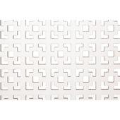 CanDo decorpaneel Kreta wit gegrond 183x61 cm
