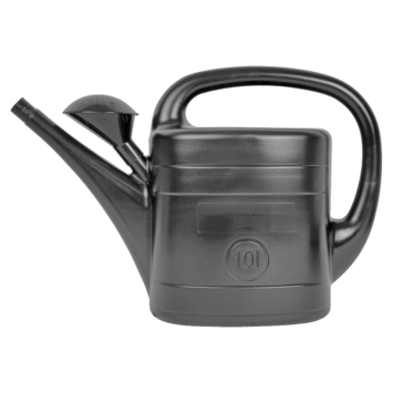 Gieter antraciet/zwart 10 ltr