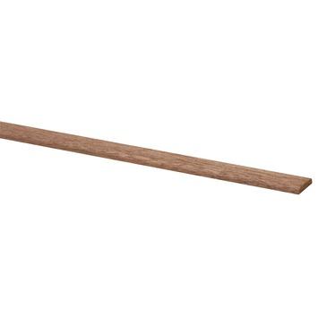 Afdeklijst hardhout 4x22 mm lengte 270 cm