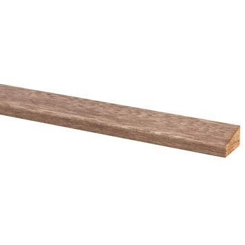 Glaslat hardhout 17x28 mm lengte 270 cm