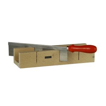 Skandia verstekbakset hout 300x55 mm met fijnzaag