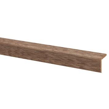 Hoeklat hardhout 27x27 mm lengte 270 cm
