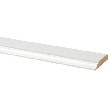 Deurlijst MDF wit folie 12x68 mm lengte 260 cm