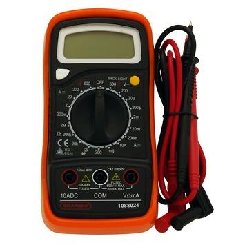Skandia digitale multimeter 600V 10A