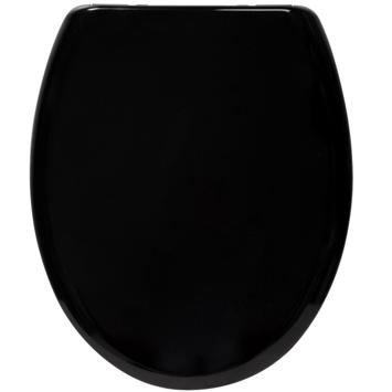 Handson Timo wc bril duroplast zwart met softclose en quick release