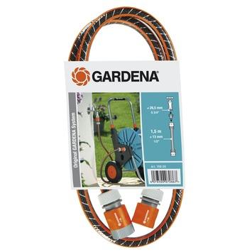 Gardena aansluitset flexibele slang 1,5 meter