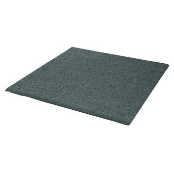 rubberen tegel grijs 40x40x2 5 cm kopen tegels karwei