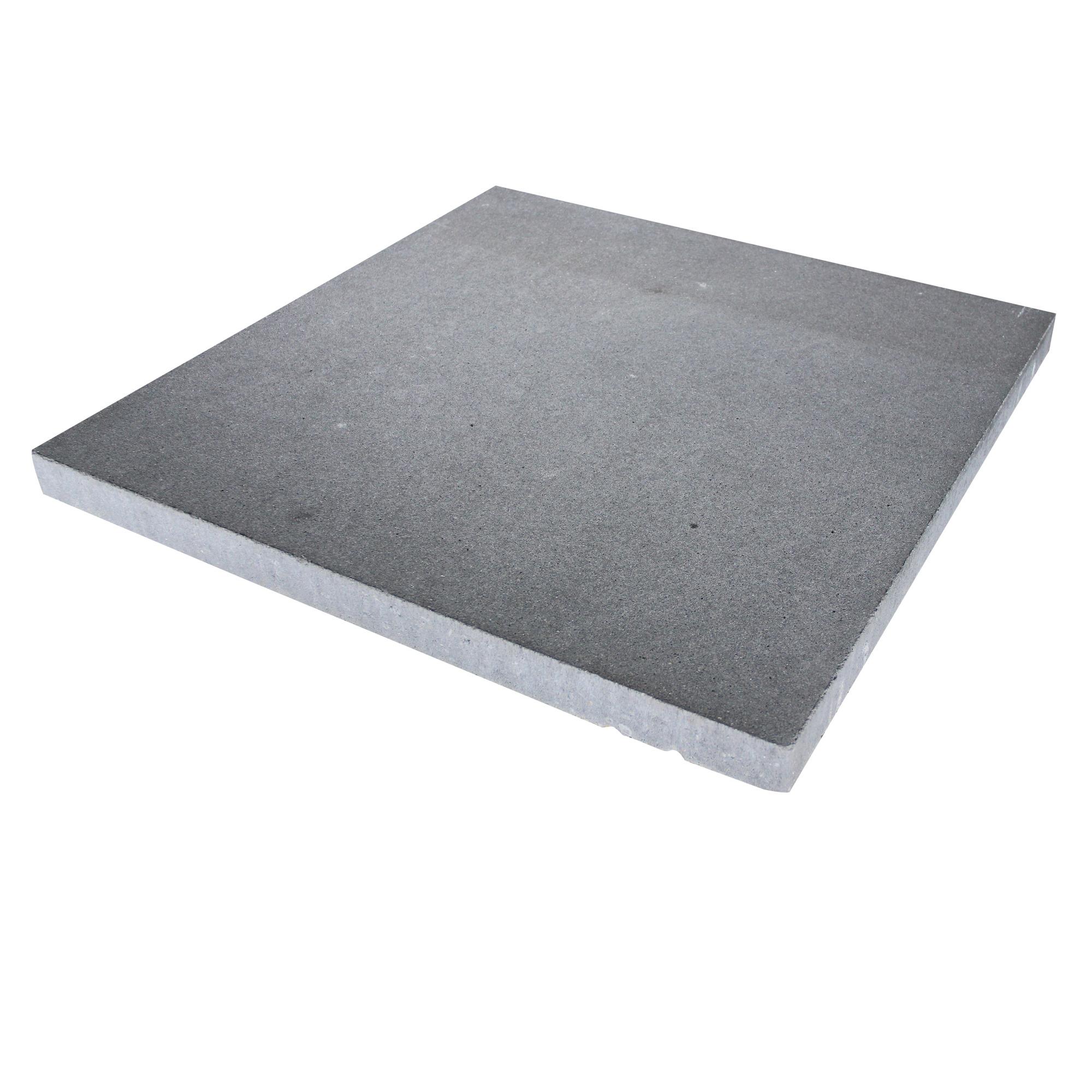 Terrastegel Beton Vegas Zwart Nuance 60x60 cm Per Tegel-0,36 m2