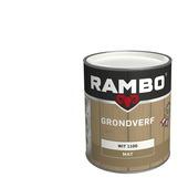 Rambo Grondverf hout buiten wit dekkend 750 ml