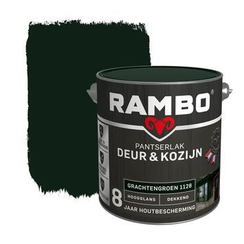 Rambo Pantserlak Deur & Kozijn hoogglans grachtengroen dekkend 2,5 l