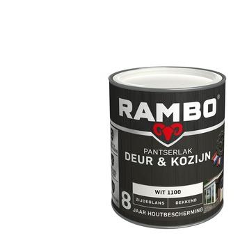 Rambo Pantserlak Deur & Kozijn zijdeglans wit dekkend 750 ml